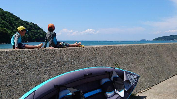 インフレータブルカヤックで、広がる水辺の遊び!