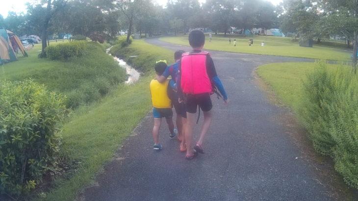子どもたちが、いつかライフジャケットを脱ぐ時を想定して