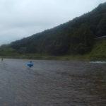 栃木県 鮭も遡上する那珂川で、ただひたすら川流れ