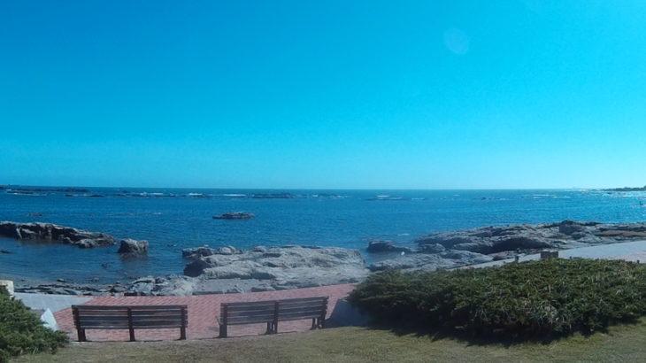 南房総市 大潮の磯笛公園前の海は、透明度抜群の天然のプール、絶好のシュノーケリングポイント!